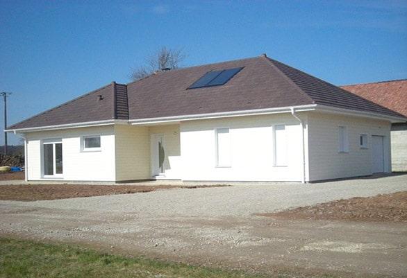 Première maison certifiée BBC Effinergie de Haute Saône