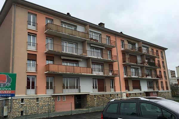 Audit énergétique 16 logements Sochaux
