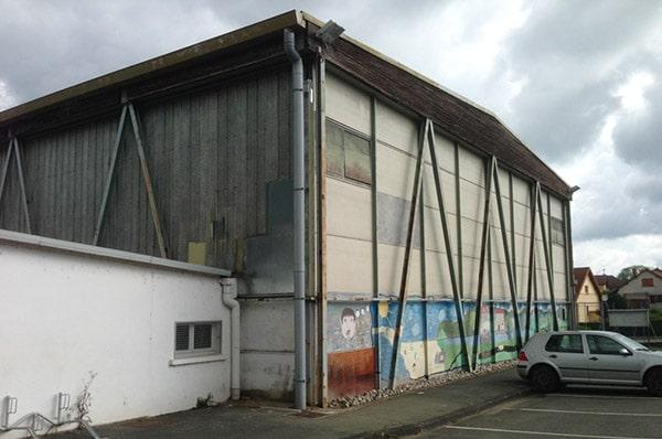 Audit énergétique gymnase Isles sur le Doubs