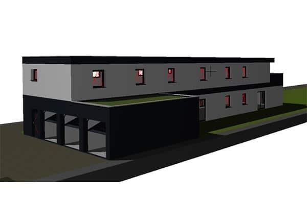 Construction 3 logements Blotzheim
