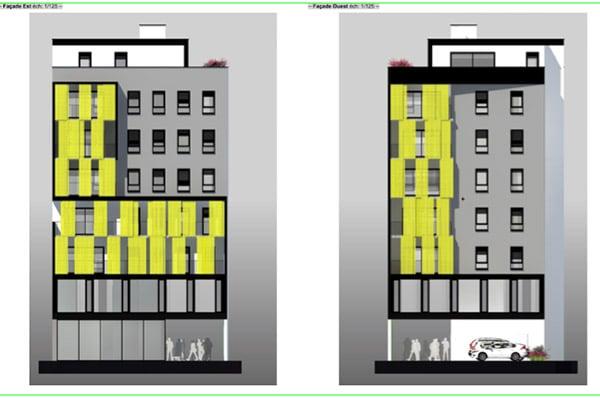 Construction logements et cellules commerciales Saint-Louis