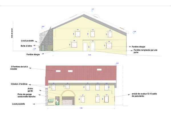 Rénovation 6 logements BBC à Aibre
