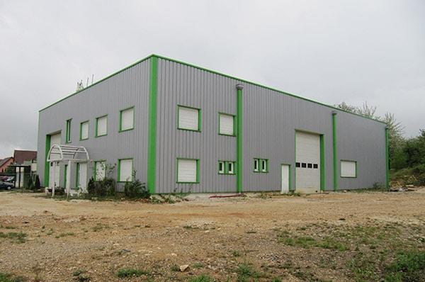 Transformation site industriel à Essert